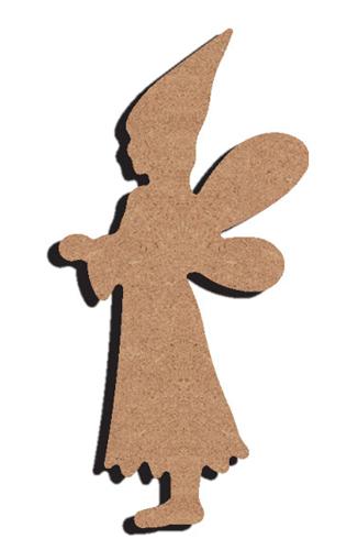 Support bois f e 15cm tout creer for Support bois a decorer