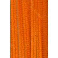 Chenilles orange 8mm x10