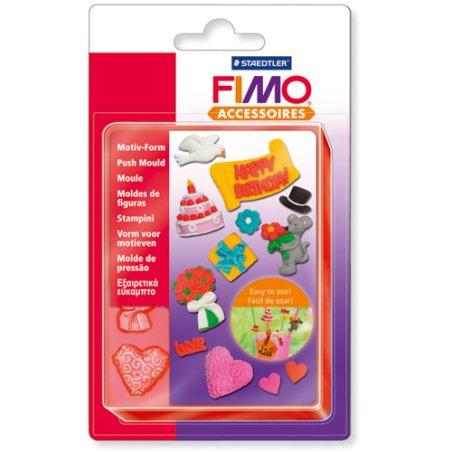 Moule FIMO - Anniversaire