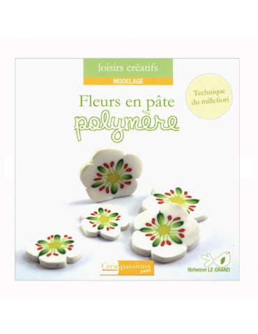 Livre - Fleurs en pâte polymère