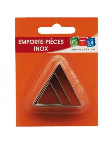 Emporte-pièces métal Triangle x3