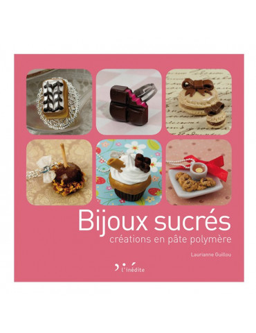 Livre - Bijoux sucrés en pâte polymère