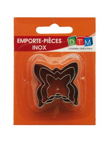 Emporte-pièces métal Papillon x3