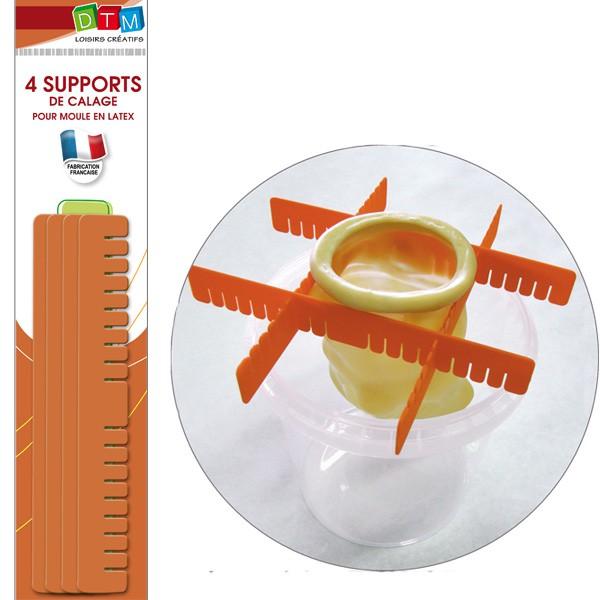 Support de calage pour moule latex dtm for Comment enlever du silicone sec