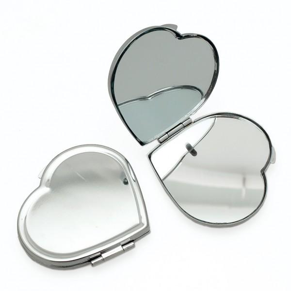 Miroir de poche coeur d corer for Miroir de poche