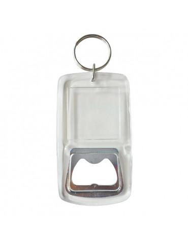 Porte-clés plastique décapsuleur