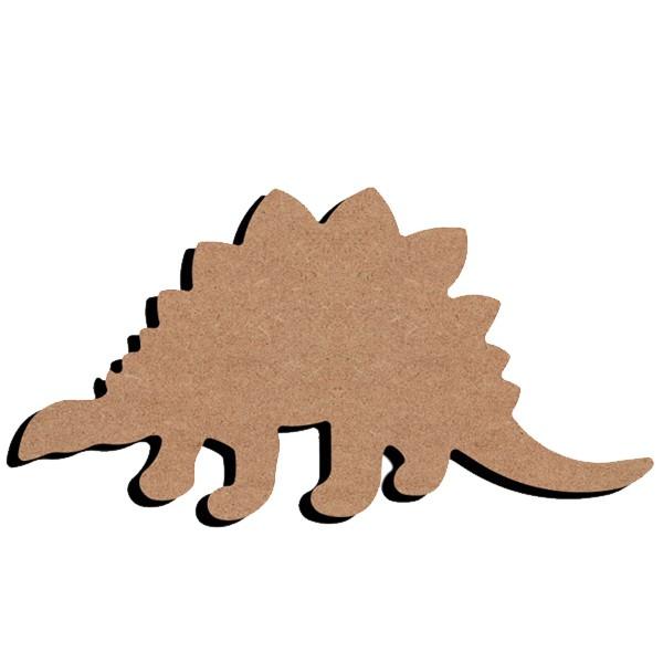 gomille support bois stegosaure 15cm. Black Bedroom Furniture Sets. Home Design Ideas