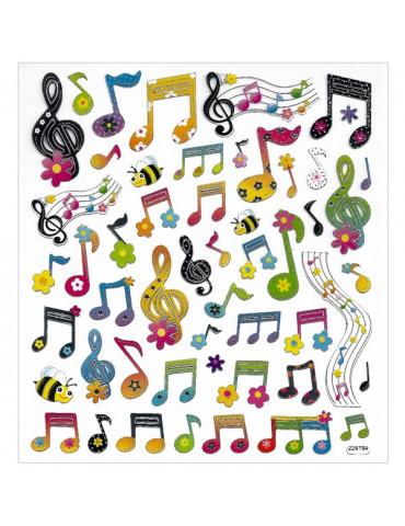 Gommettes Notes musique x51