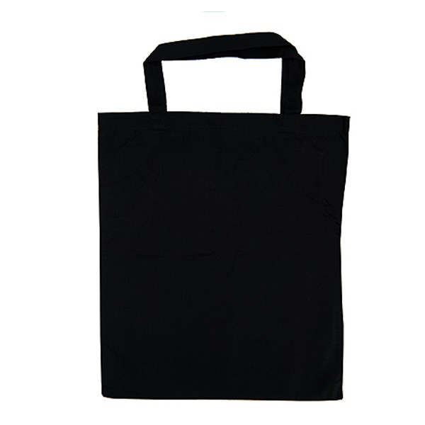 tote bag noir 38x42cm sac personnalisable. Black Bedroom Furniture Sets. Home Design Ideas