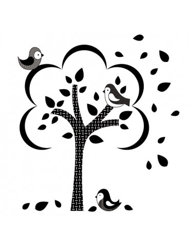 Tampon bois G - Histoire d'amour