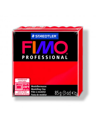 Fimo Professional Rouge pur 85g