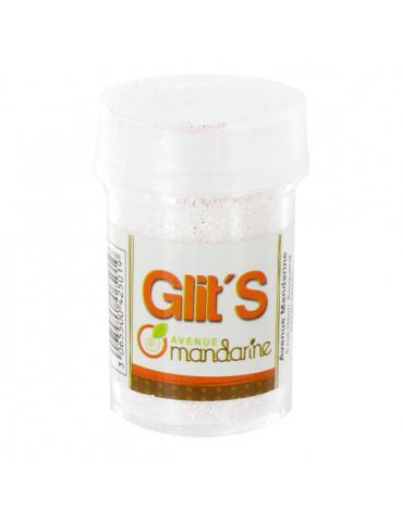 Paillettes Glit's Blanc 14g - Avenue Mandarine