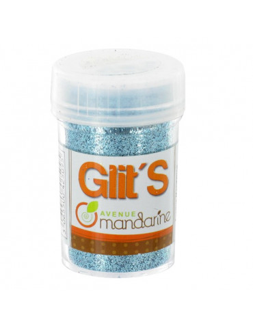 Paillettes Glit's Bleu 14g - Avenue Mandarine