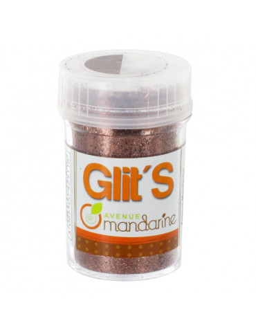 Paillettes Glit's Chocolat 14g - Avenue Mandarine