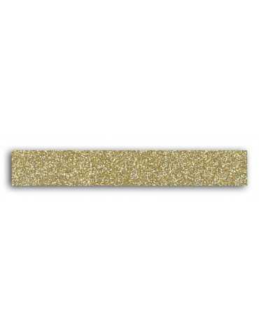 TOGA -  Masking tape Glitter Or - 15mm x 2m