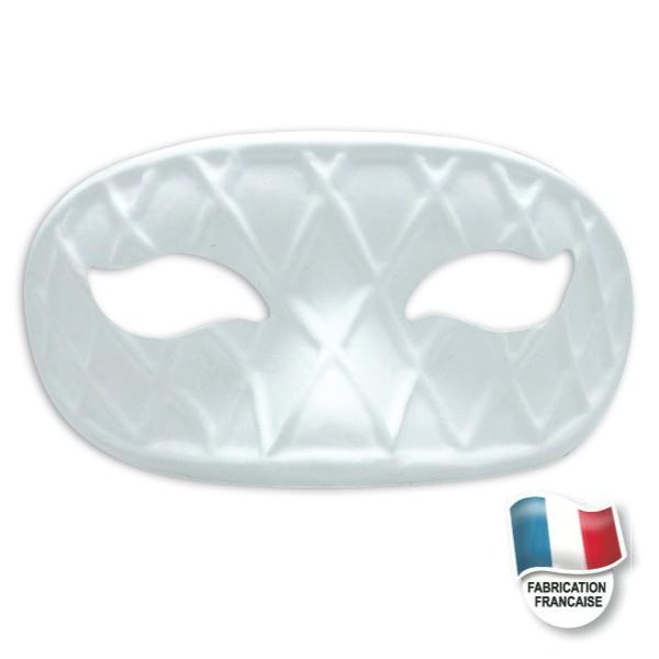 Masque loup arlequin masque blanc d corer dtm for Decorer un masque blanc