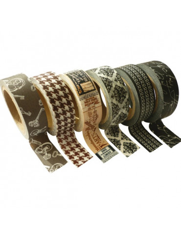 Masking tape - Assortiment Vintage 15mm x6