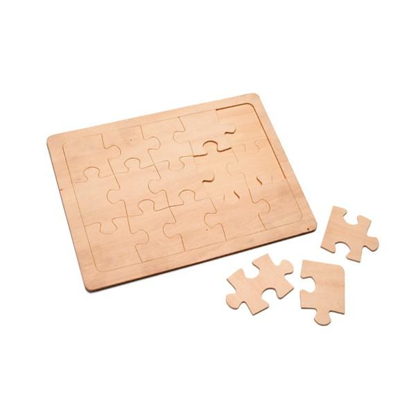 puzzle bois peindre 24 5x8 5 cm tout creer. Black Bedroom Furniture Sets. Home Design Ideas