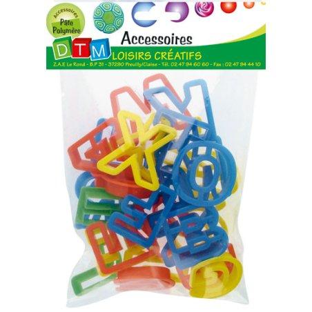 Emporte-pièces plastique - Lettres