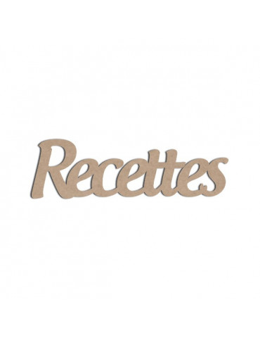 Mot en bois - Recettes - Boanita