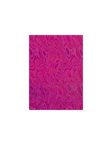 Tissu thermocollant - Vagues Holo rose - Ki-Sign