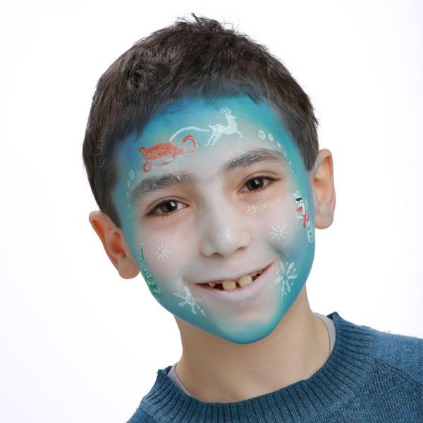 Grimtout Pochoir Maquillage Reine Des Neiges