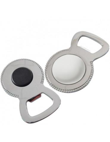 Décapsuleur magnétique métal 4x6 cm - DTM