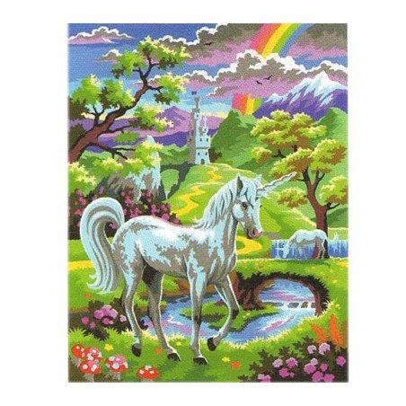 Peinture numero enfant - Licorne