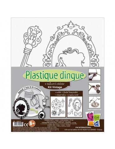 Kit Plastique dingue Sautoirs Vintage