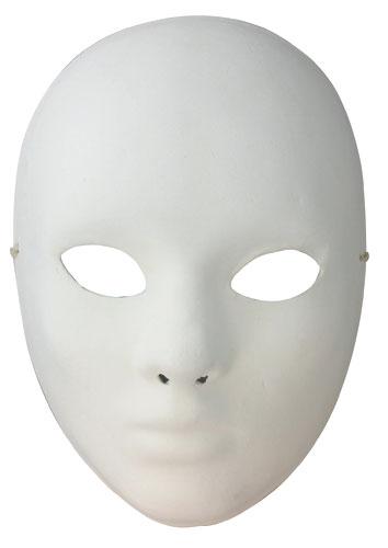 Masque Venise Visage Adulte Finition Platre Tout A Creer