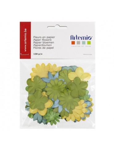 Fleurs en papier Pure x130 - Artemio