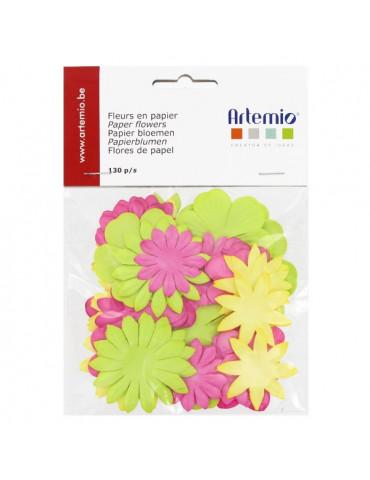 Fleurs en papier Sweet x130 - Artemio