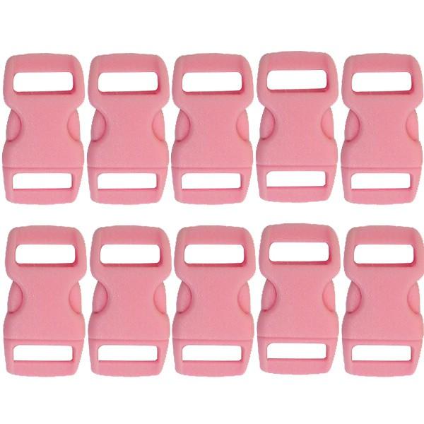 fermoir clip plastique rose 10mm x10 pour bracelet paracorde graine cr ative. Black Bedroom Furniture Sets. Home Design Ideas