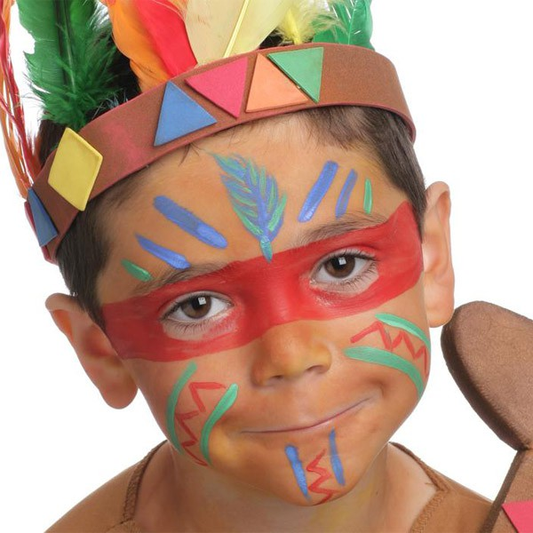 grim 39 tout palette maquillage enfant 4 couleurs indiens. Black Bedroom Furniture Sets. Home Design Ideas