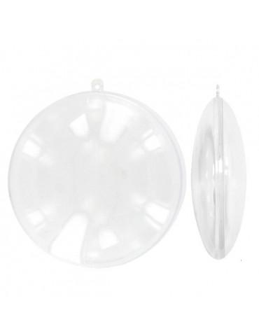 Médaillon plastique 7cm