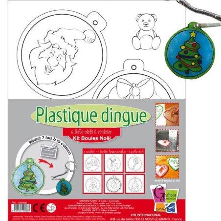 Kit Plastique dingue - Boules de Noel