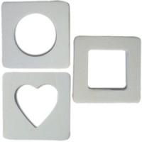 Cadre photo magnet neutre x3
