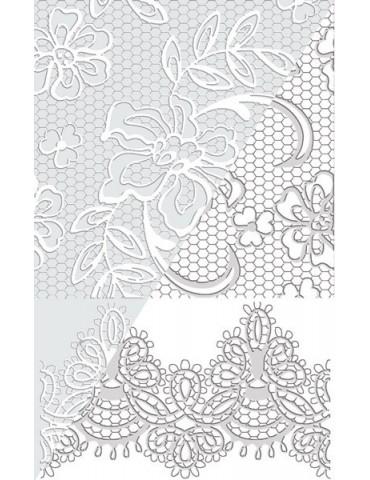 Plaque texture FIMO - Musique