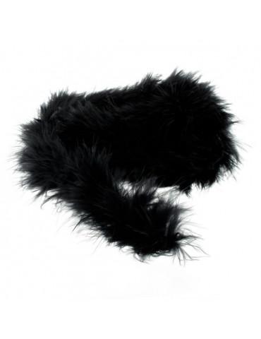 Boa Marabout noir 1m