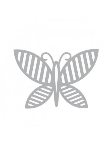 Die - Papillon rayé 7x7cm - Nature - Artemio