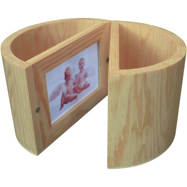 Support boisà décorer Double Potà crayons aimanté avec cadre photo x2 Graine Créative # Pot A Crayon En Bois