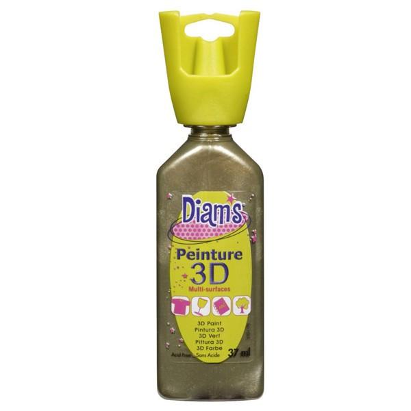 Peinture DIAM'S 3D nacrée bronze
