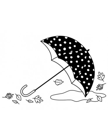 Tampon bois Artemio - Parapluie