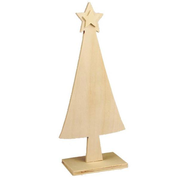 Sapin en bois à poser 20,5cm