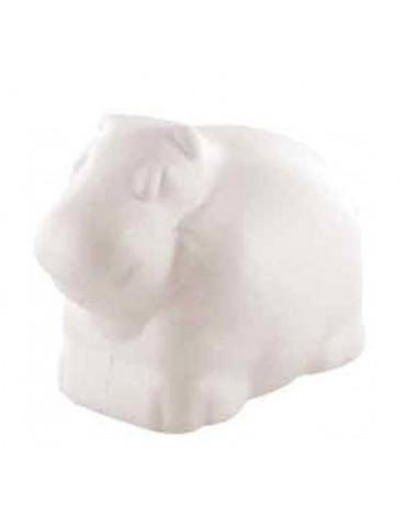 Hippopotame polystyrène 11cm