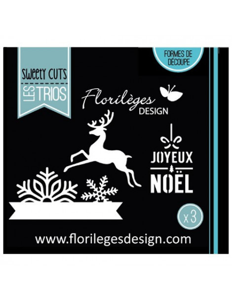 Dies Sweety Cuts - Flocons de Noël - Florilèges Design
