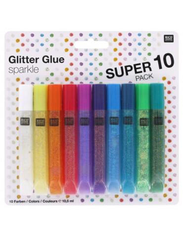 Colle paillettes Sparkle 10,5ml x10