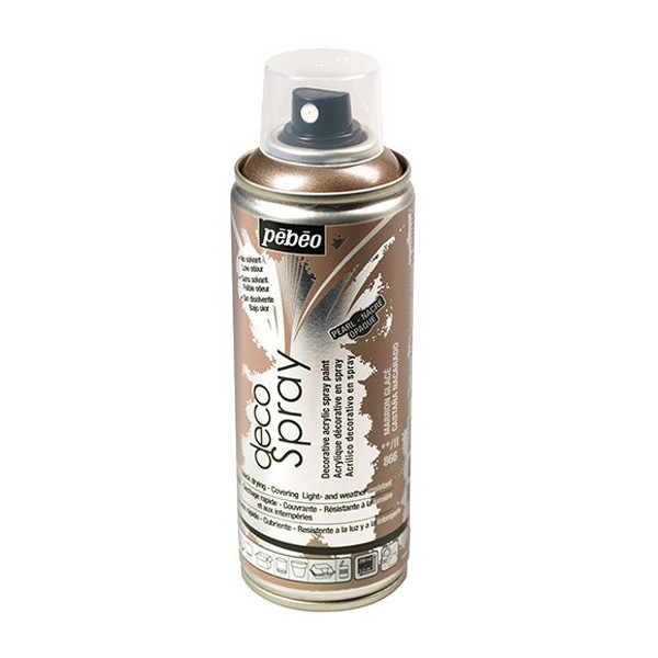 Peinture DecoSpray 200ml - Marron glacé  - Pébéo