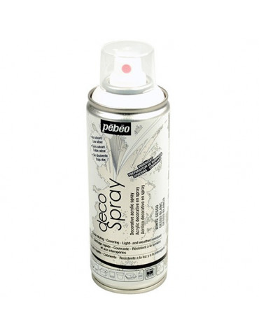 DecoSpray 200ml - Gesso blanc - Pébéo