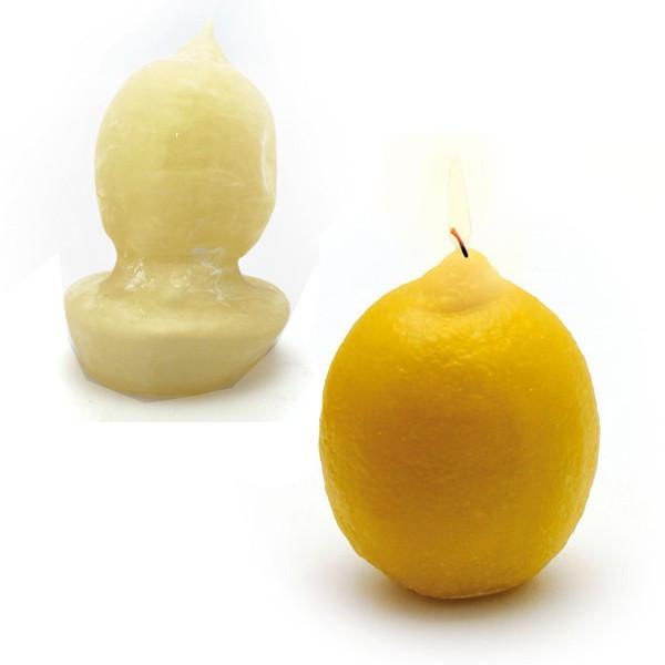 Moule bougie latex - Citron